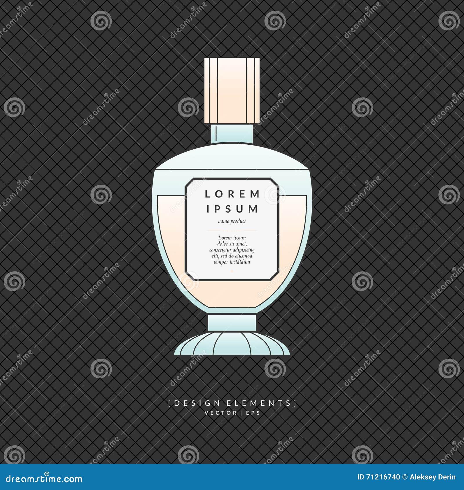 Garrafa clássica do perfume