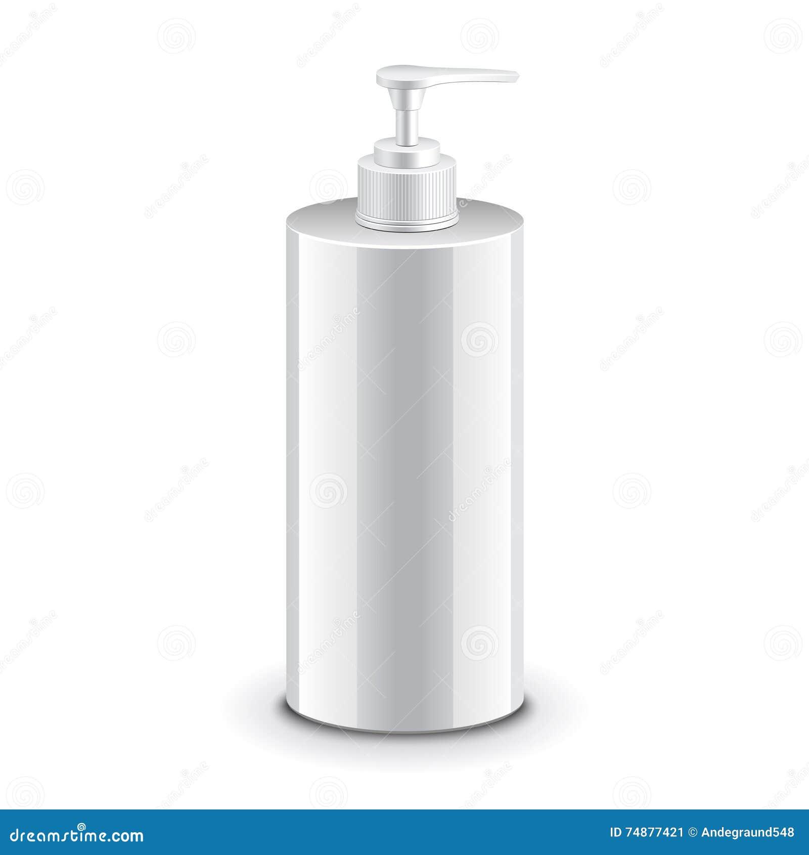 Garrafa plástica cosmética com bomba do distribuidor