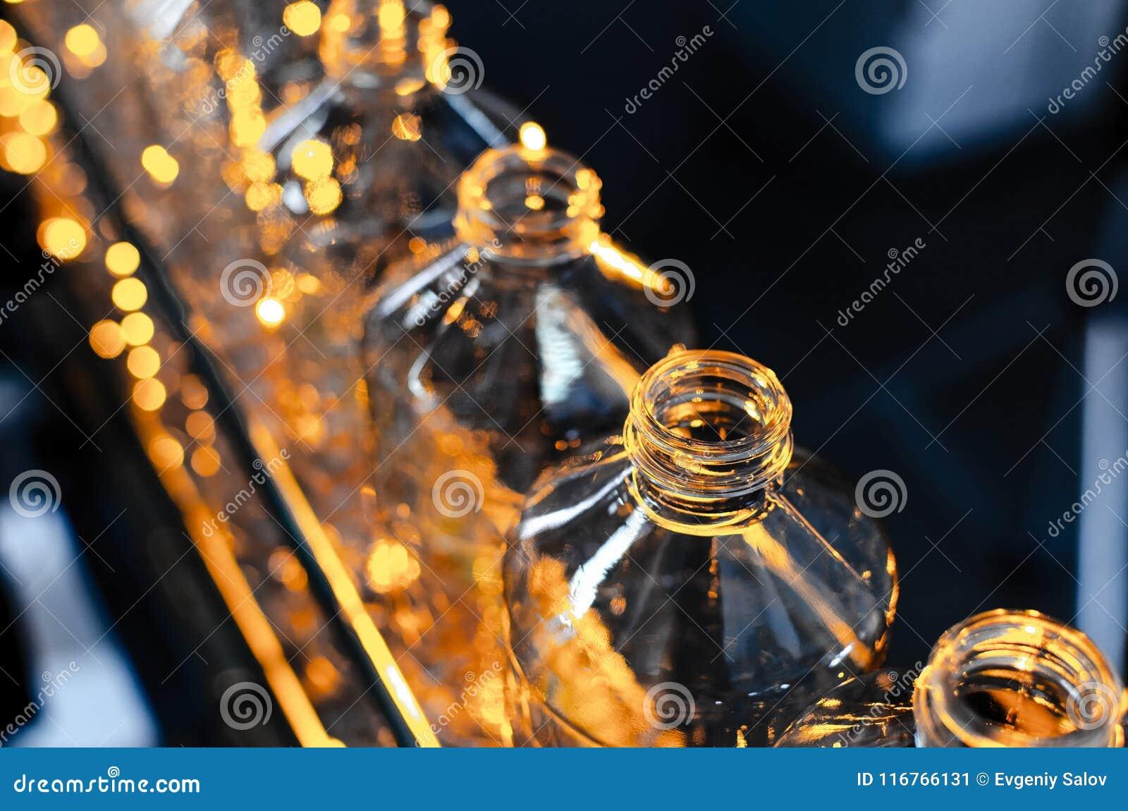 Garrafa Produção industrial de garrafas plásticas do animal de estimação Linha da fábrica para garrafas de fabricação do polietil