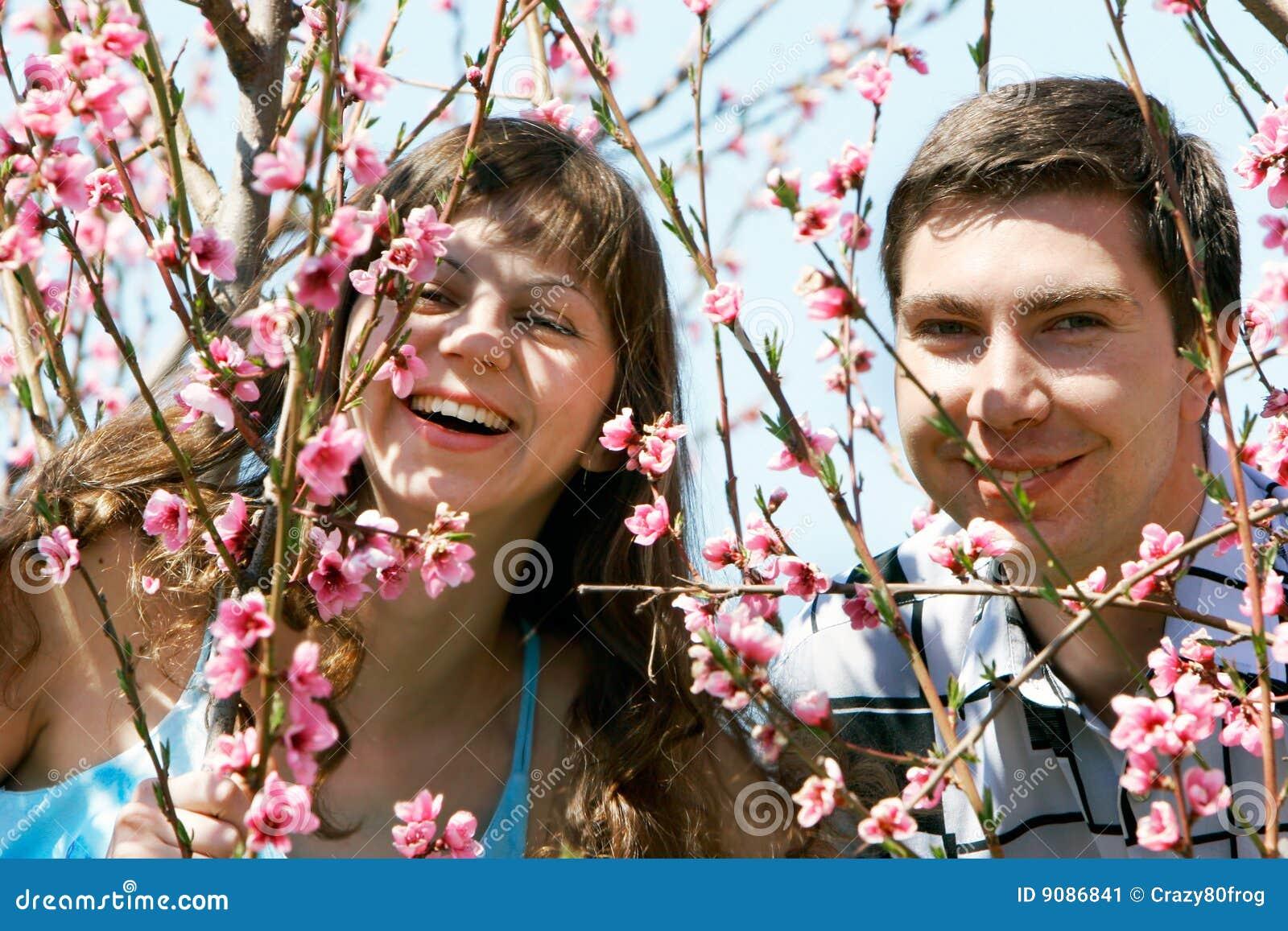 Garten der Paare im Frühjahr