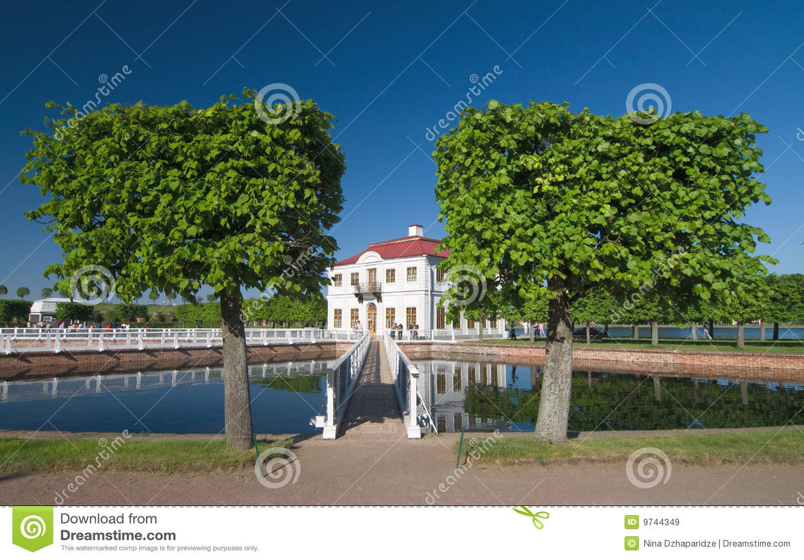 Garten in Peterhof