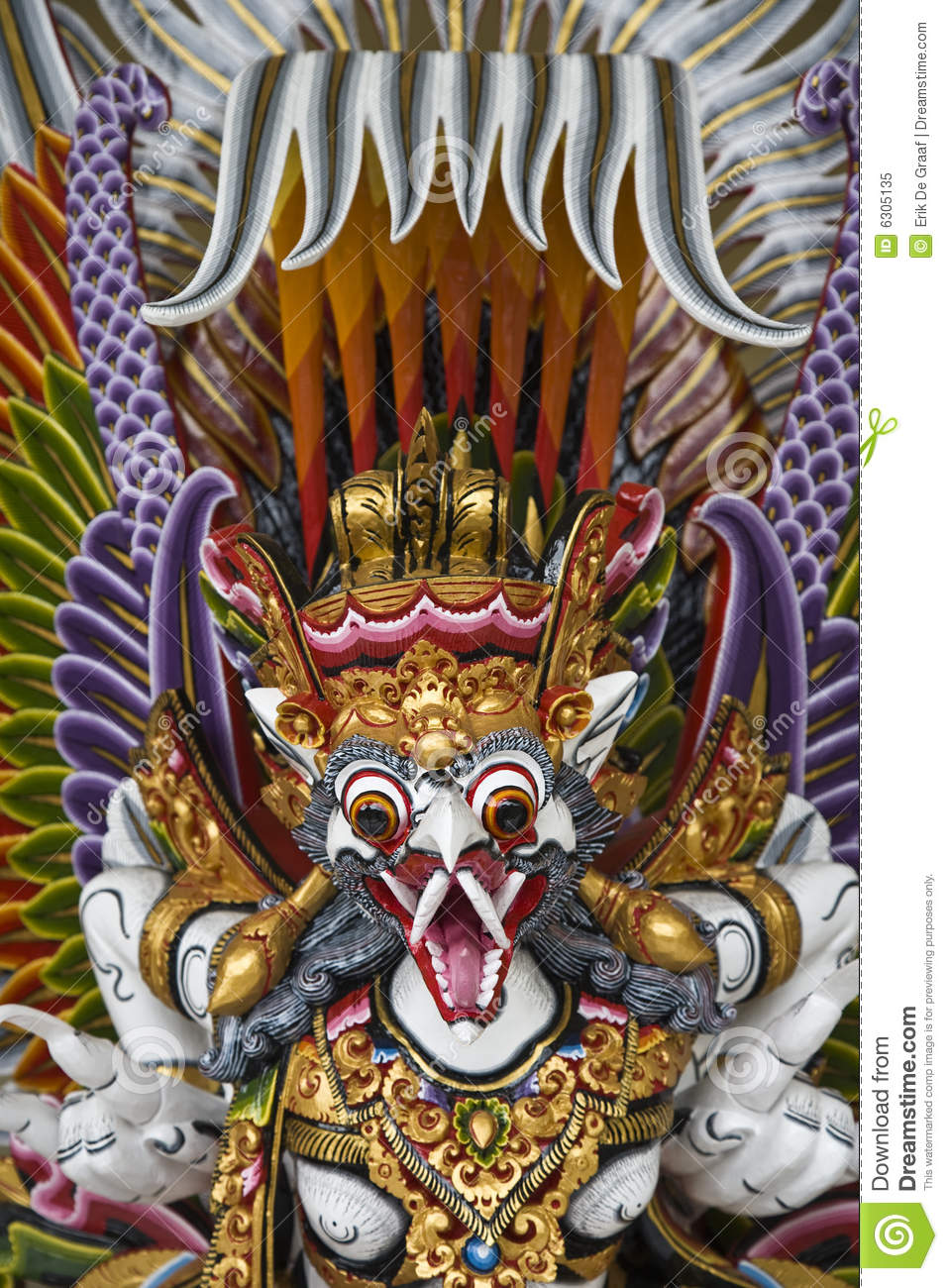 Garuda, in Bali to be believed the king of birds.