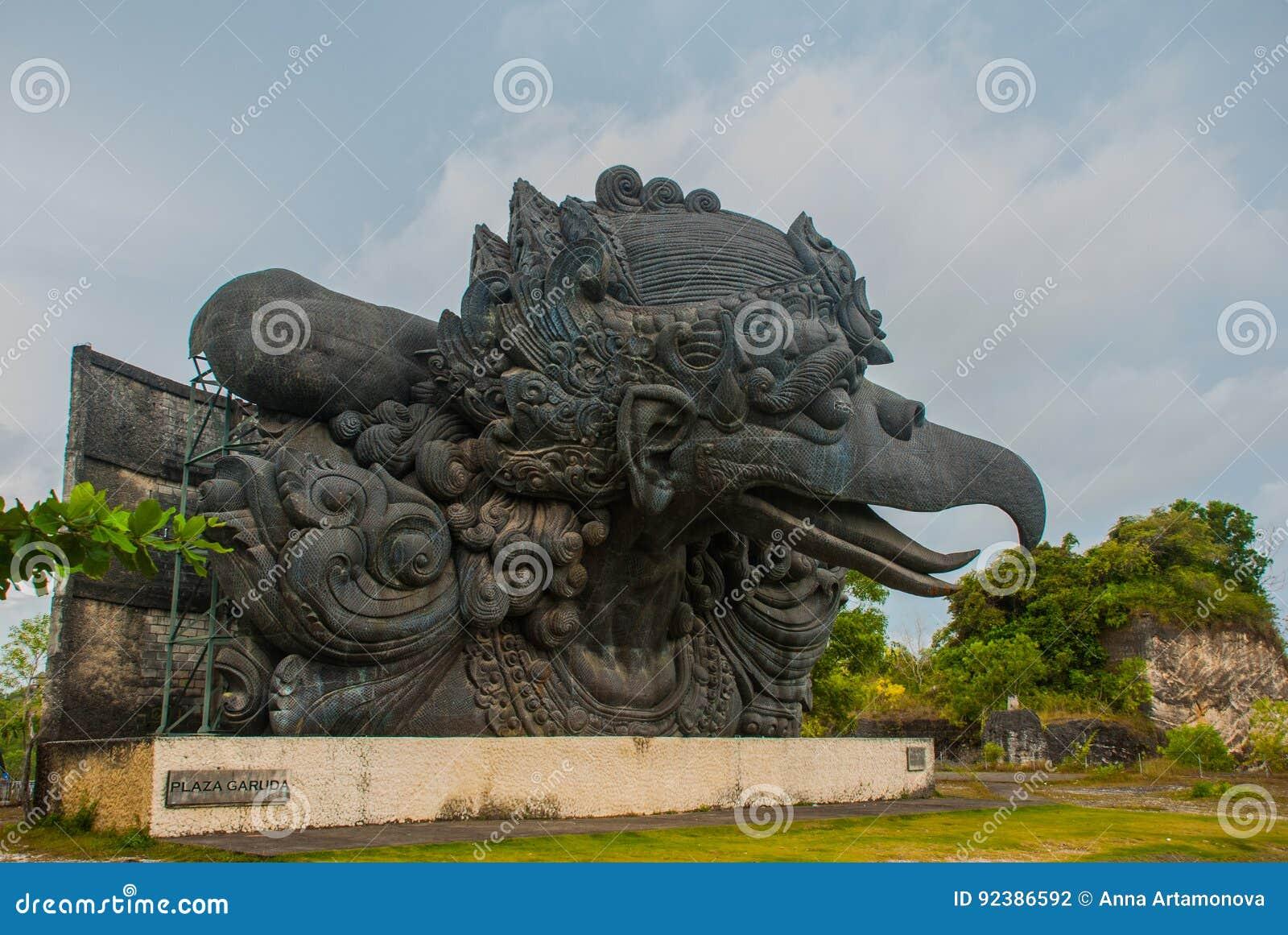 Garuda Statue Garuda Wisnu Kencana Cultural Park Bali Indonesia