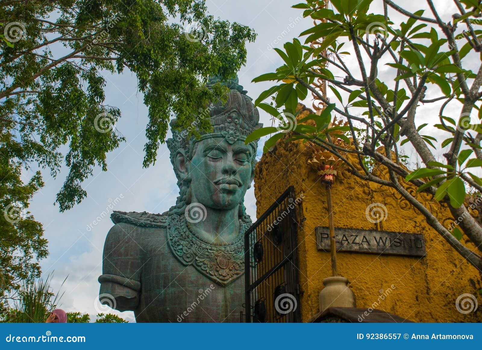 Garuda Wisnu Kencana Cultural Park Huge Sculpture Of Vishnu Statue