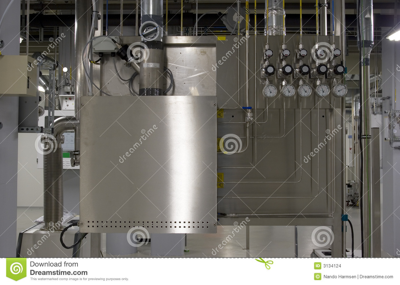 Gas Cabinet And Manifold