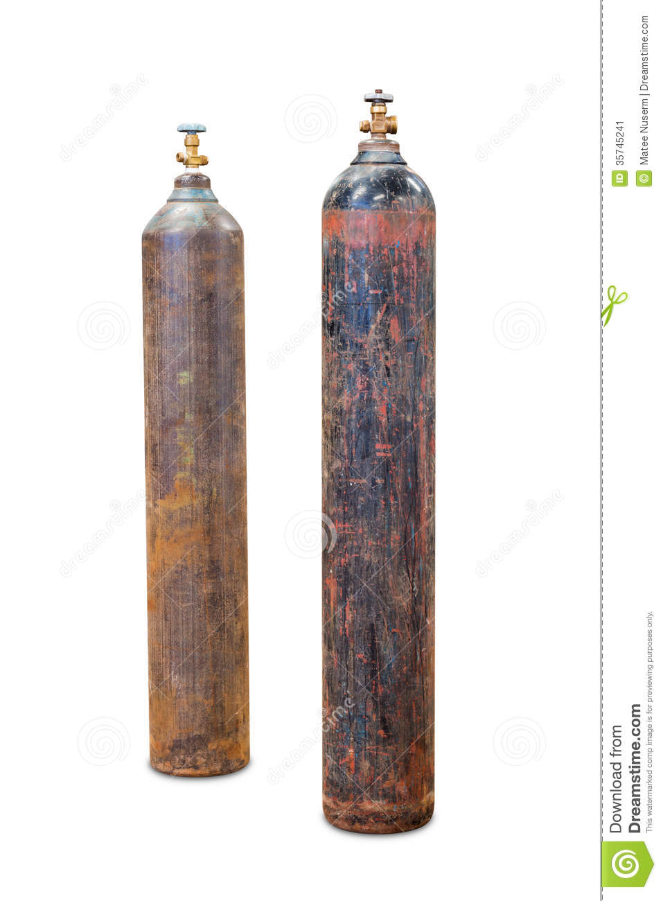 Gas Cylinder Stock Image Image Of Container Welding