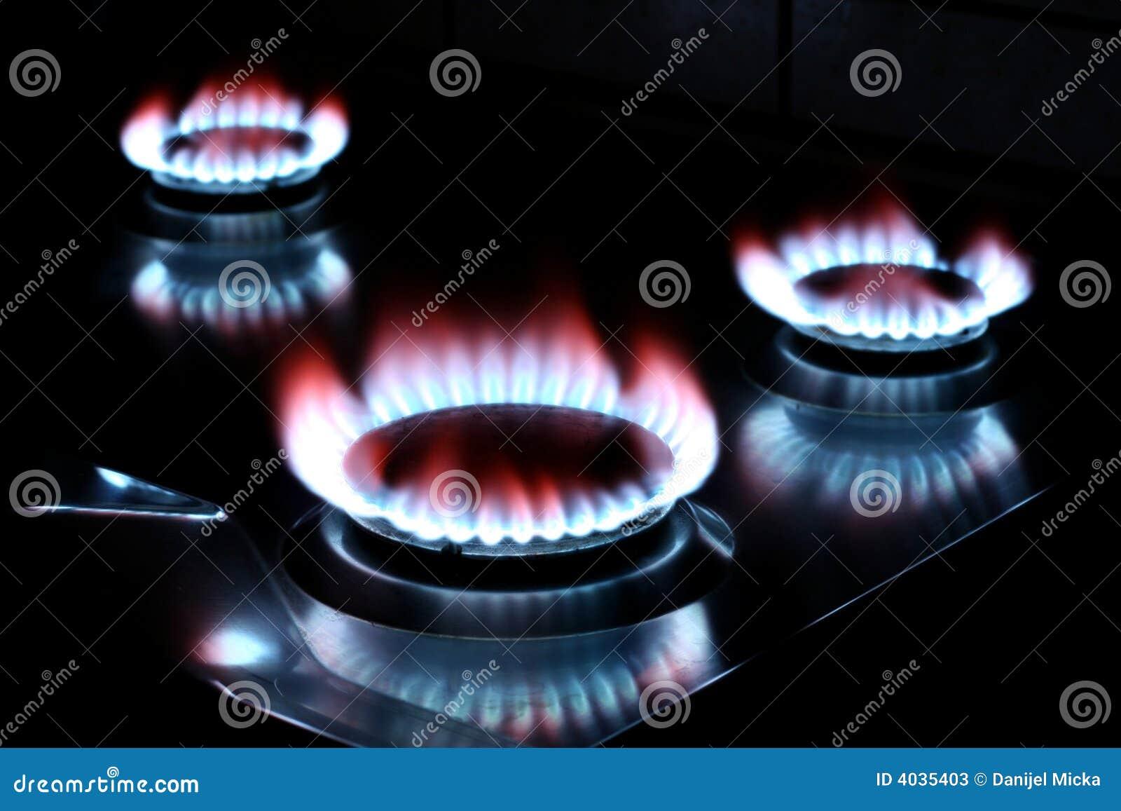 Gas della stufa