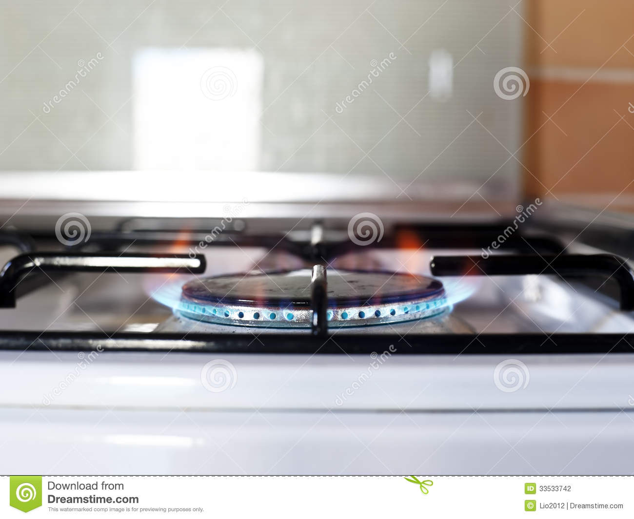 Gas Kitchen Stove Stock graphy Image