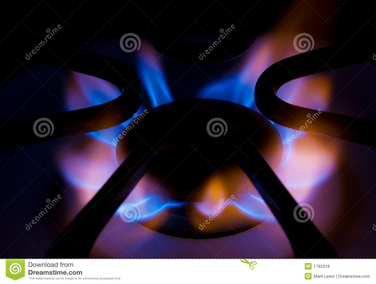 Gas a la llama