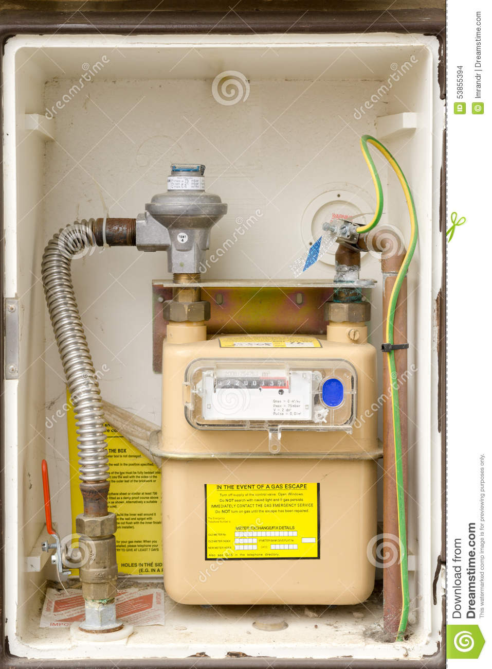 how to turn off gas meter australia