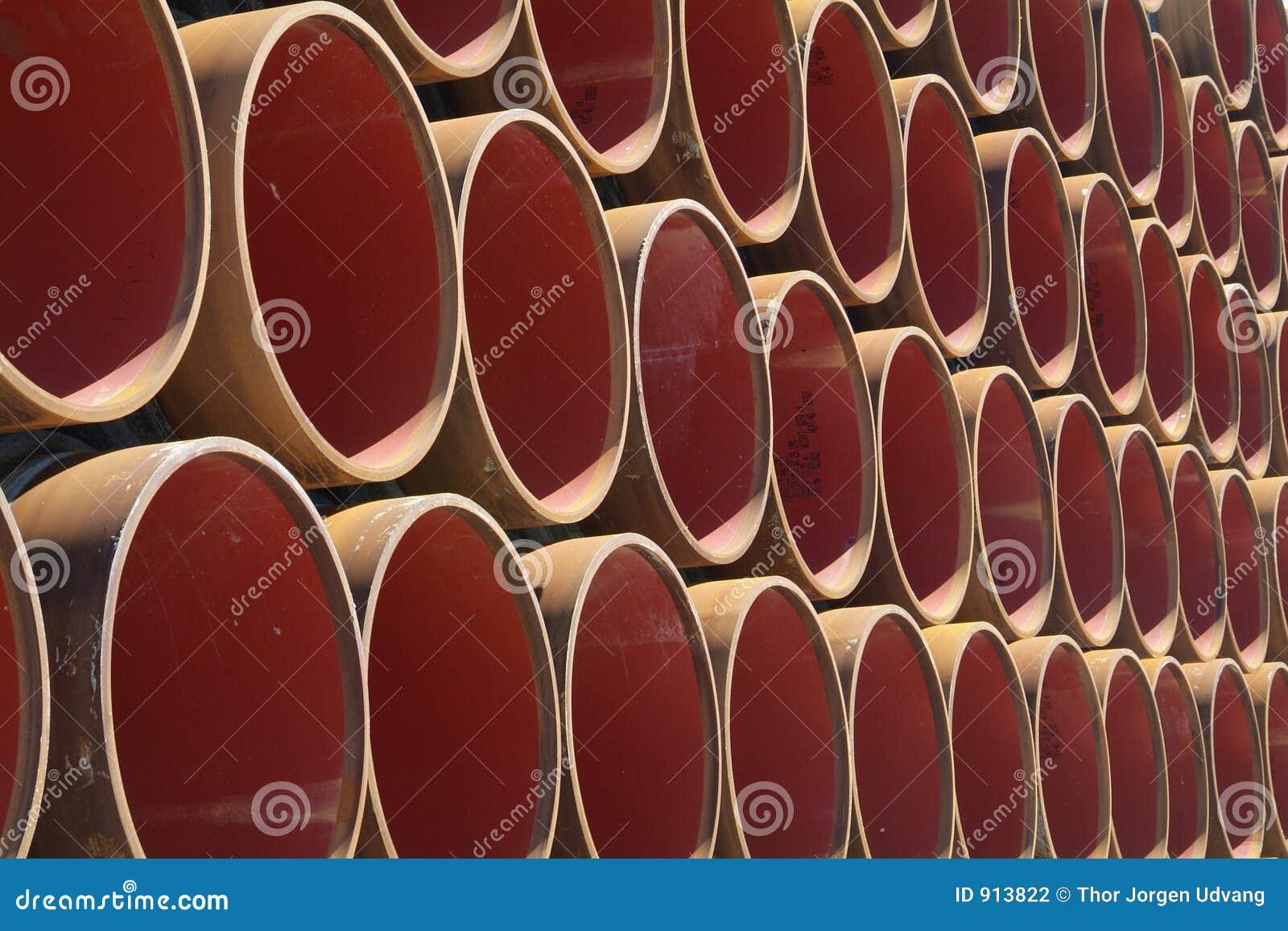 Gas pipeline elements
