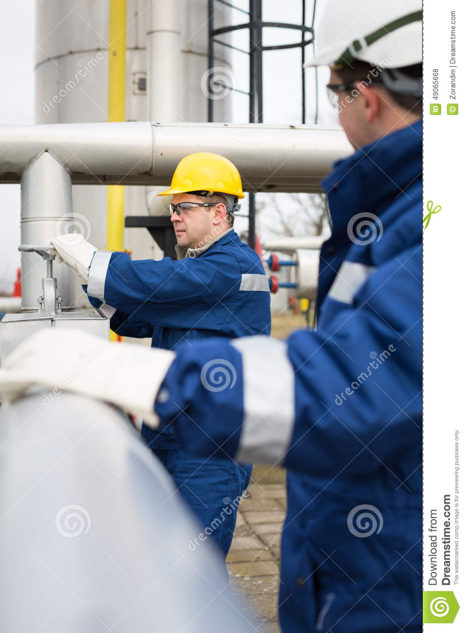 gas production operator - Production Operator