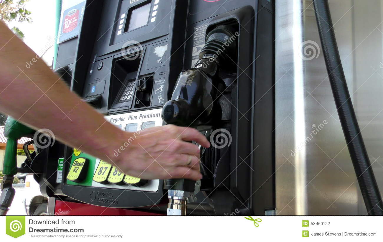 Gas Pump 1c stock footage  Video of nozzle, vehicle, fuel