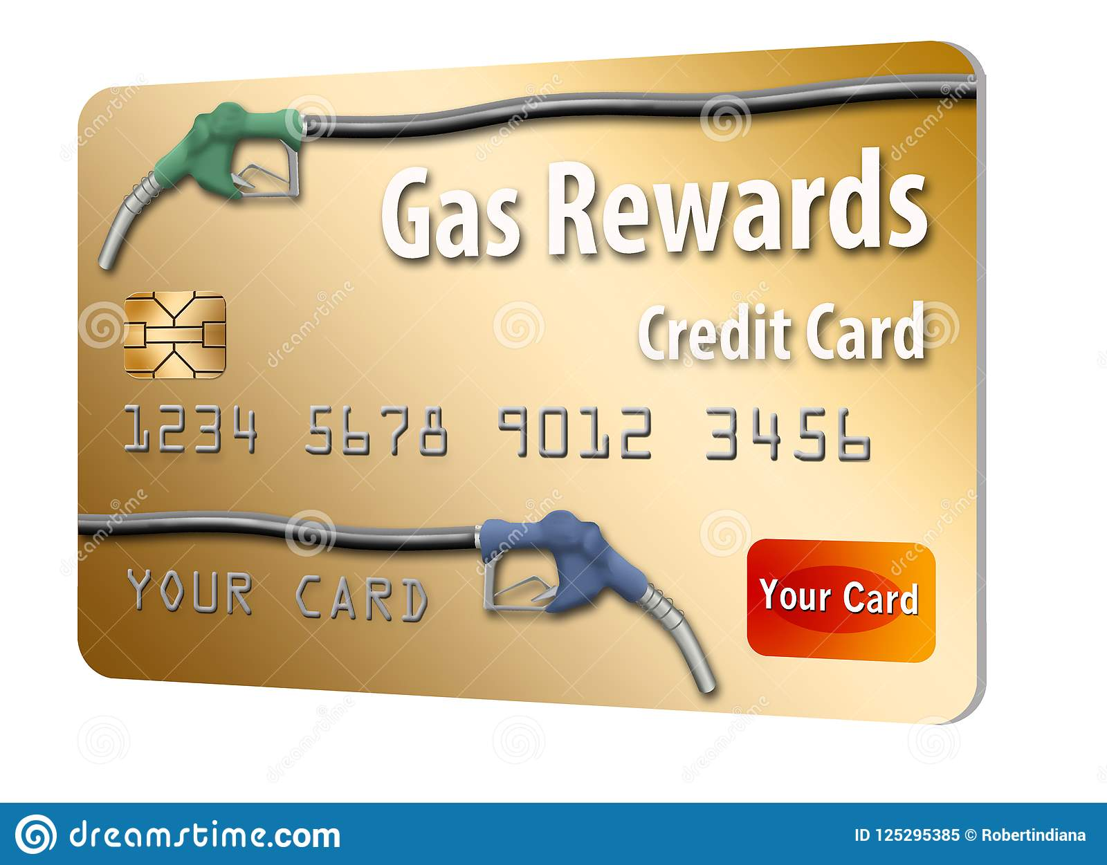 Gas Credit Card >> This Is A Generic Gasoline Rewards Credit Card Stock
