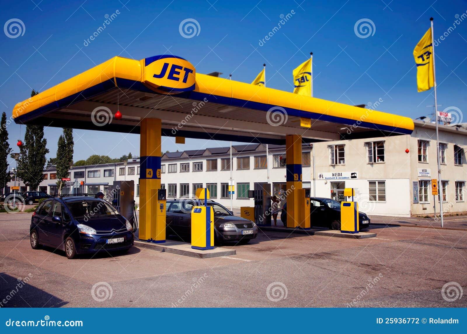 Gas station, JET