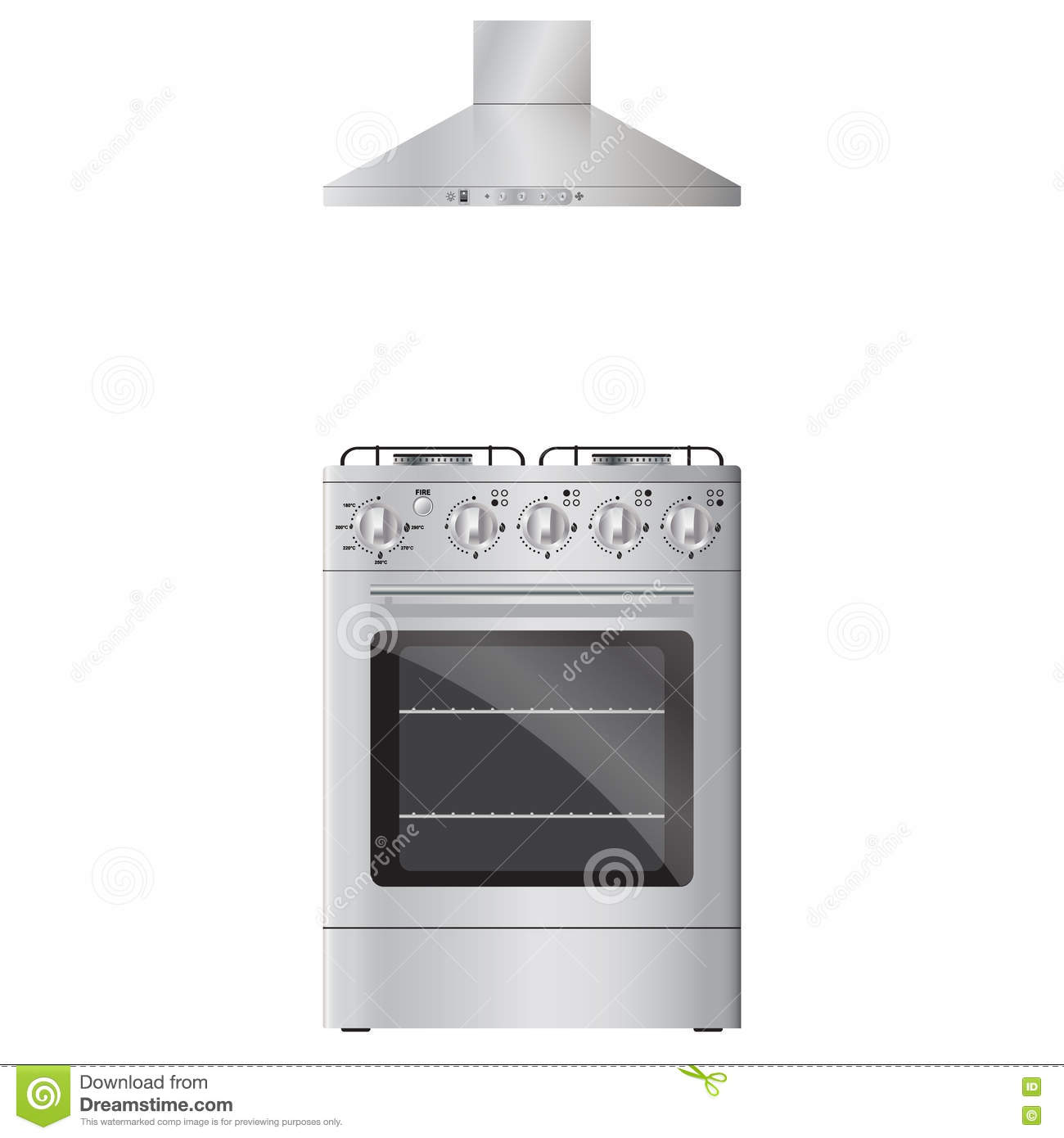 Oven Stove Icon Image Vector Illustration