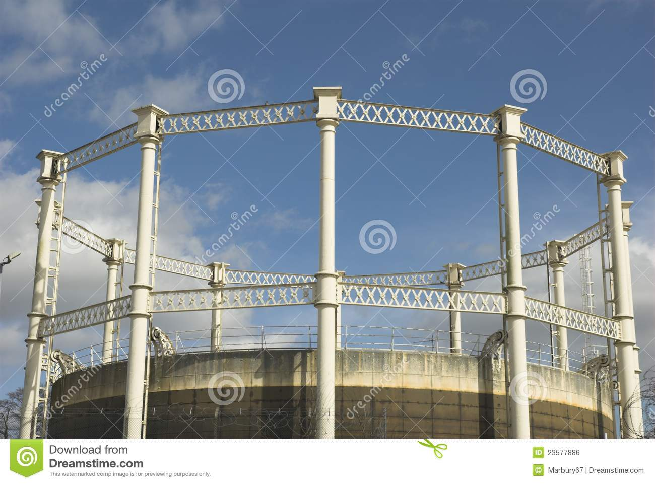 Tower Fuel Rule : Gas tower royalty free stock image