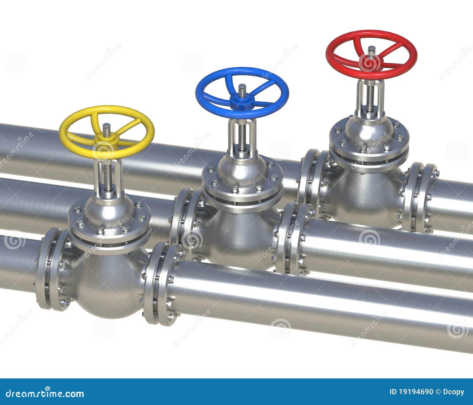 Gas, Water, Oil Steel ...
