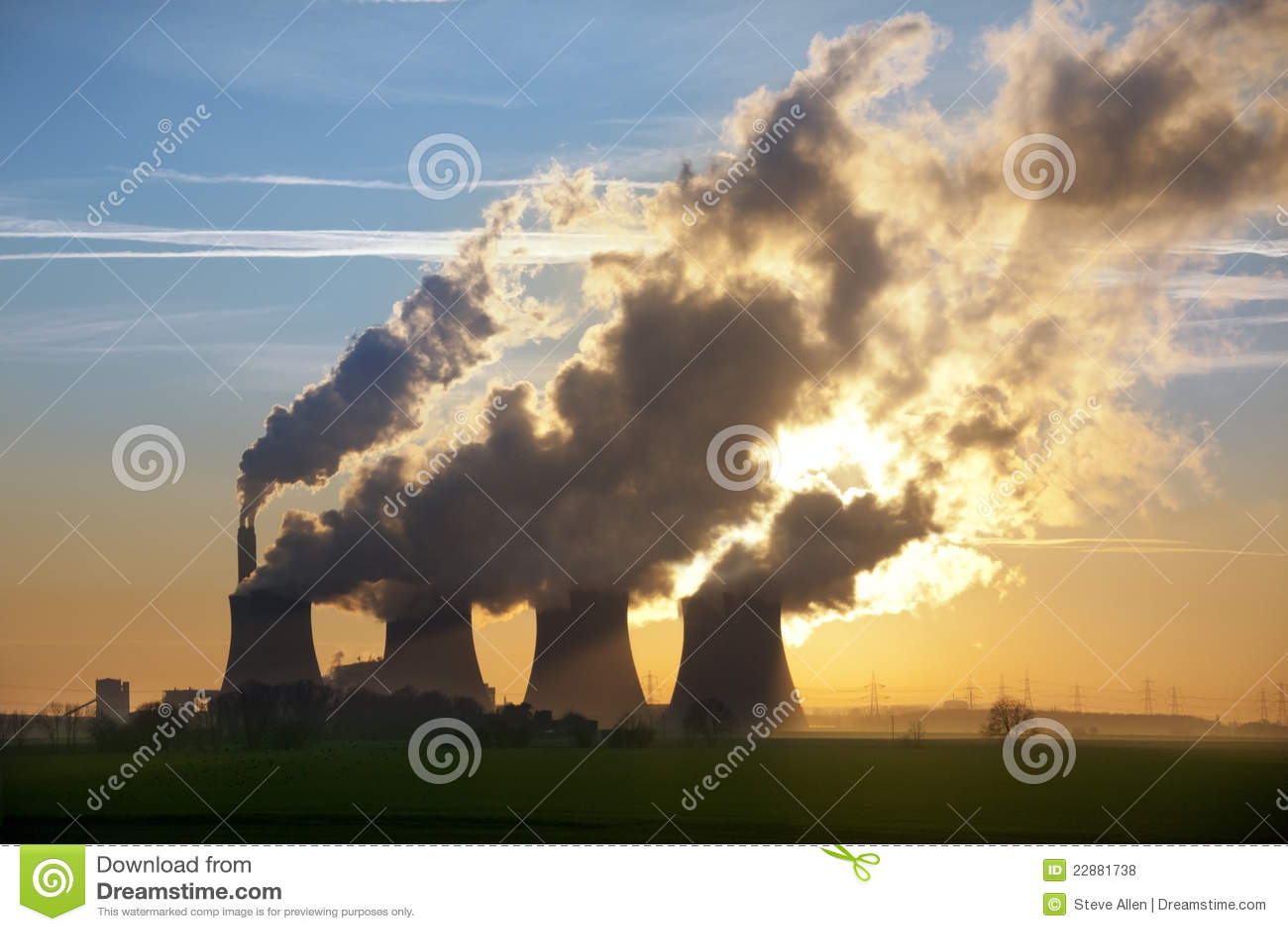 Gases de efecto invernadero - central eléctrica - Reino Unido