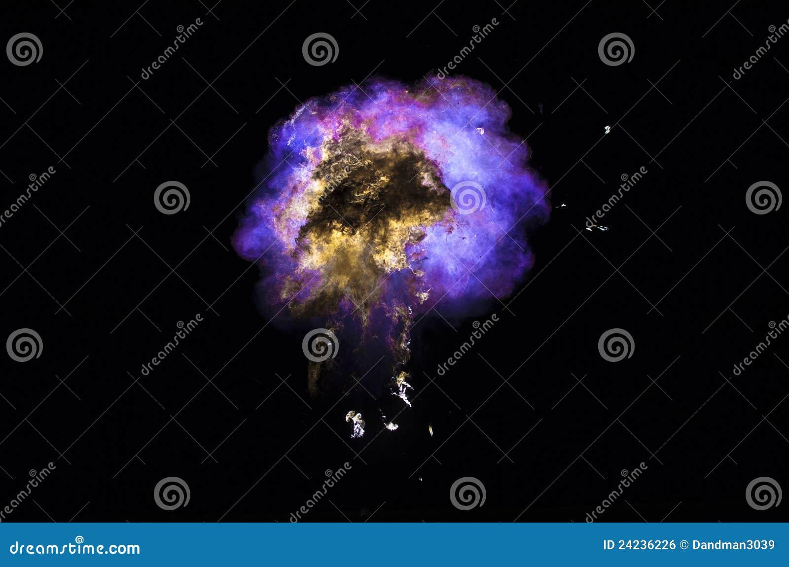 Gasformig fireball