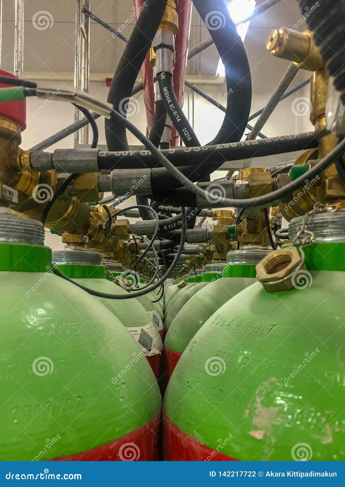 Gaslagringsbehållare