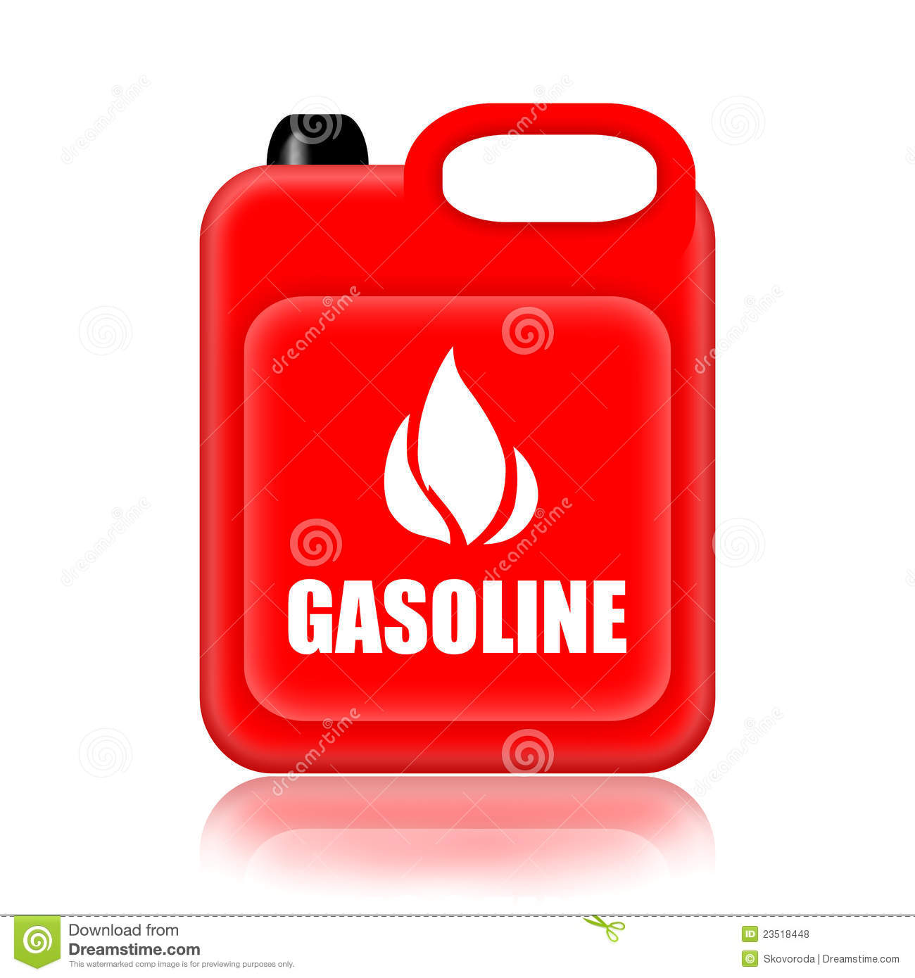 Gasoline Bottle