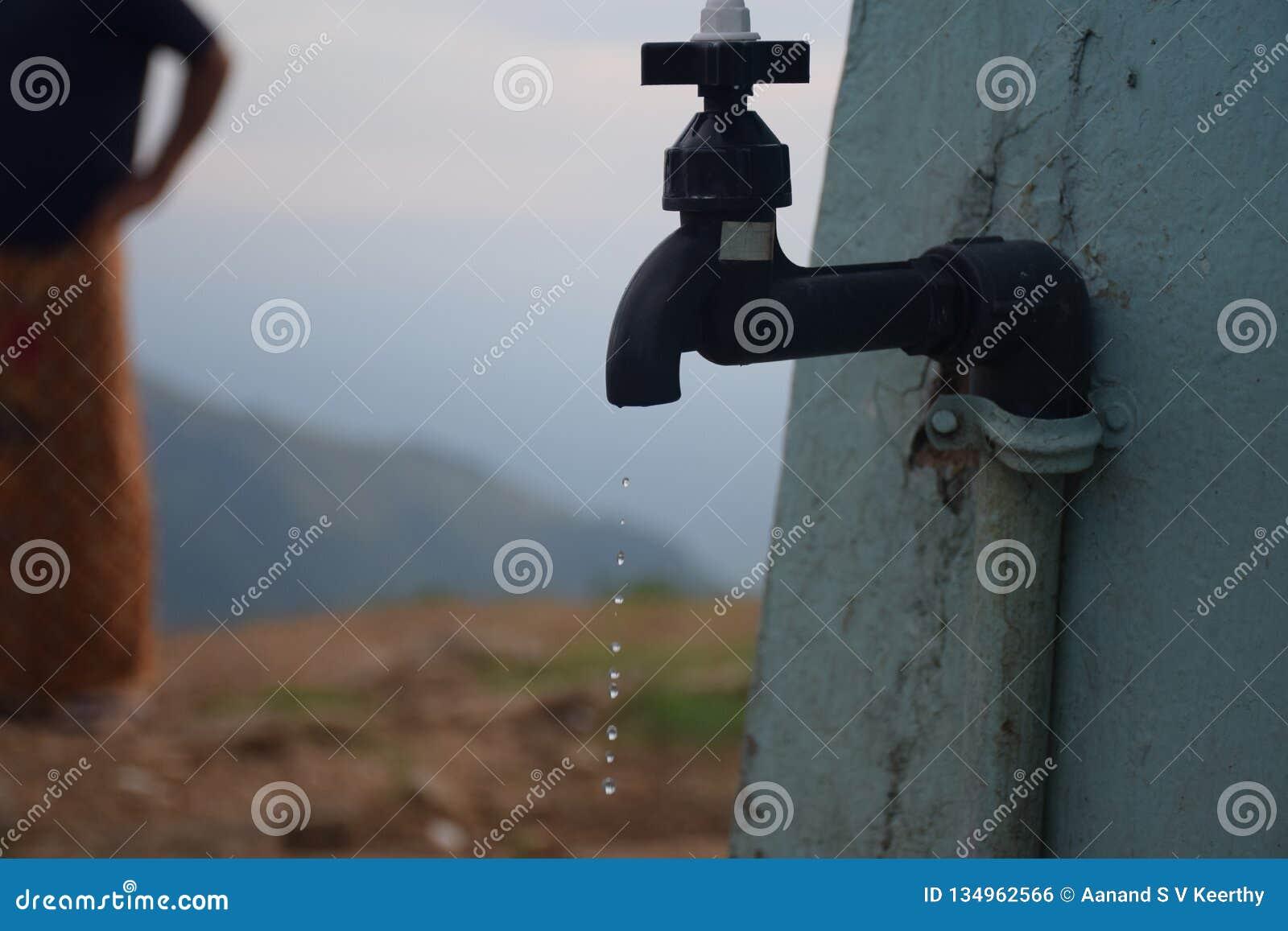 Gaspillage de l eau d un robinet