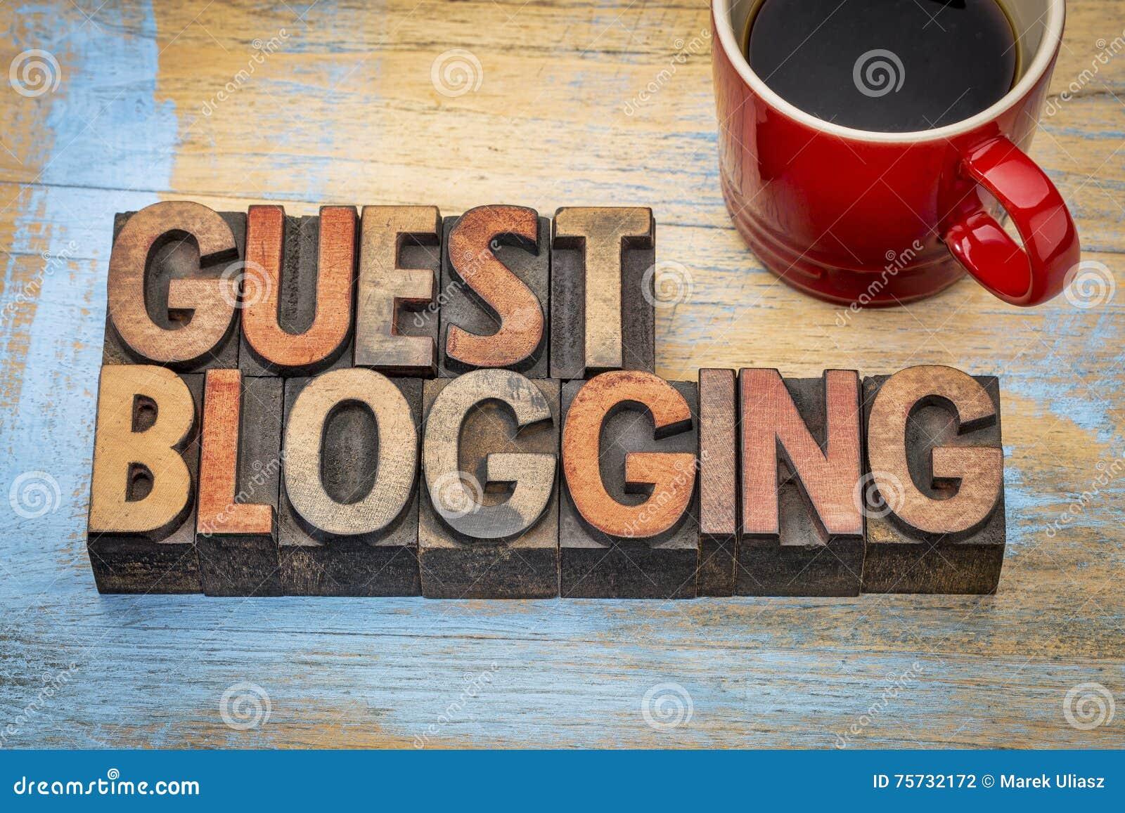 Gast blogging banner