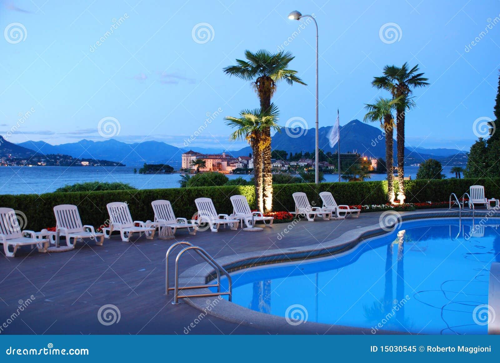 Gastfreundschaft durch Lake Maggiore, Italien