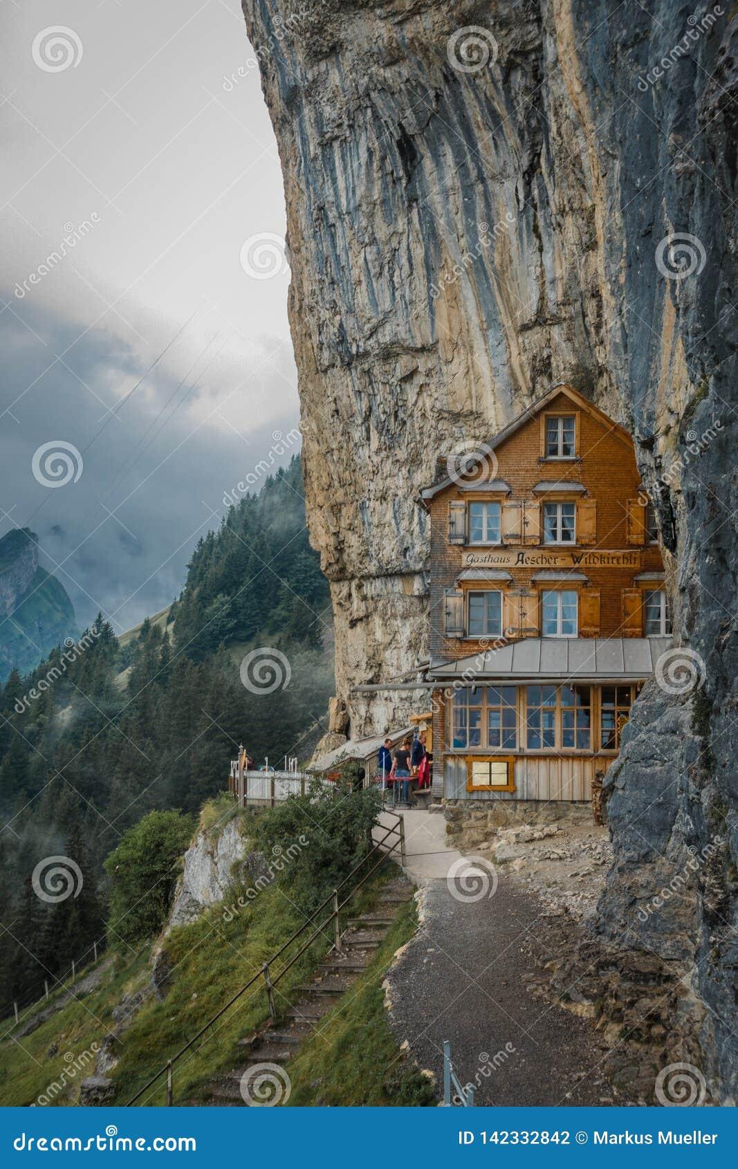 Gasthaus Aescher en Suisse, Appenzell