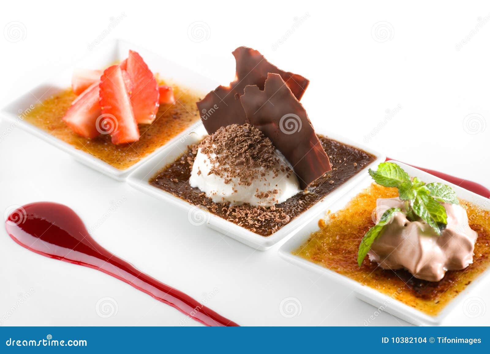 Gastronomisch dessert