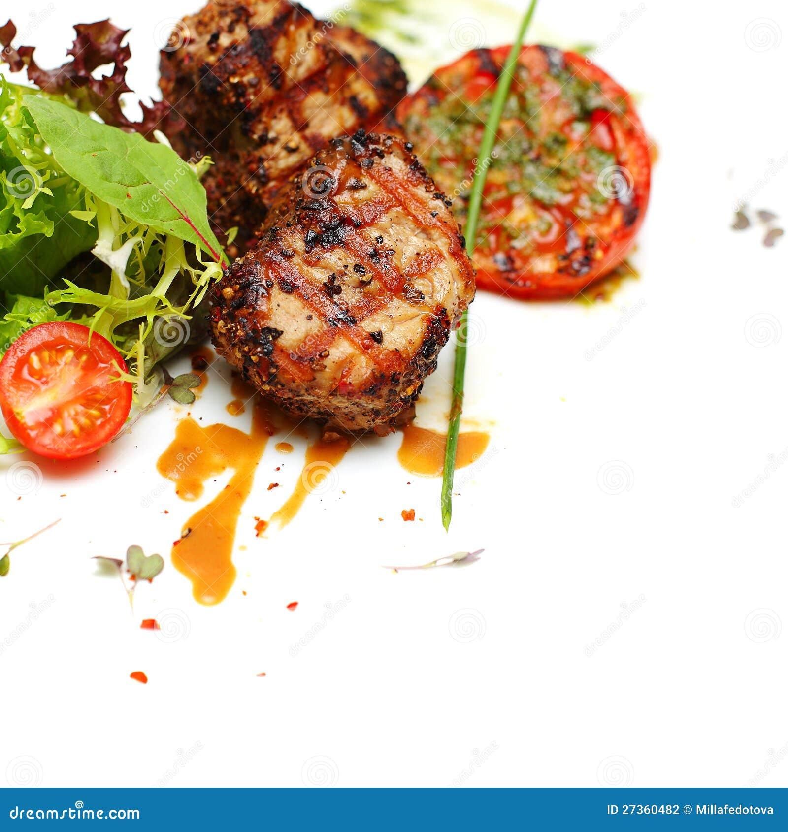 Gastronomisch voedsel - lapje vleesvlees