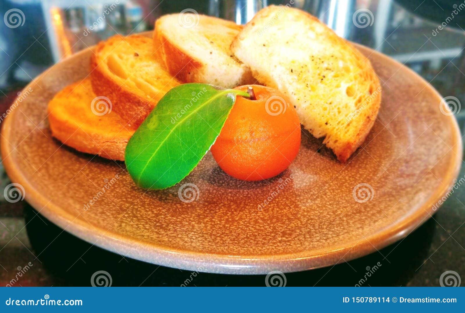Gastronomische voorgerechten: foie gras voor lunch
