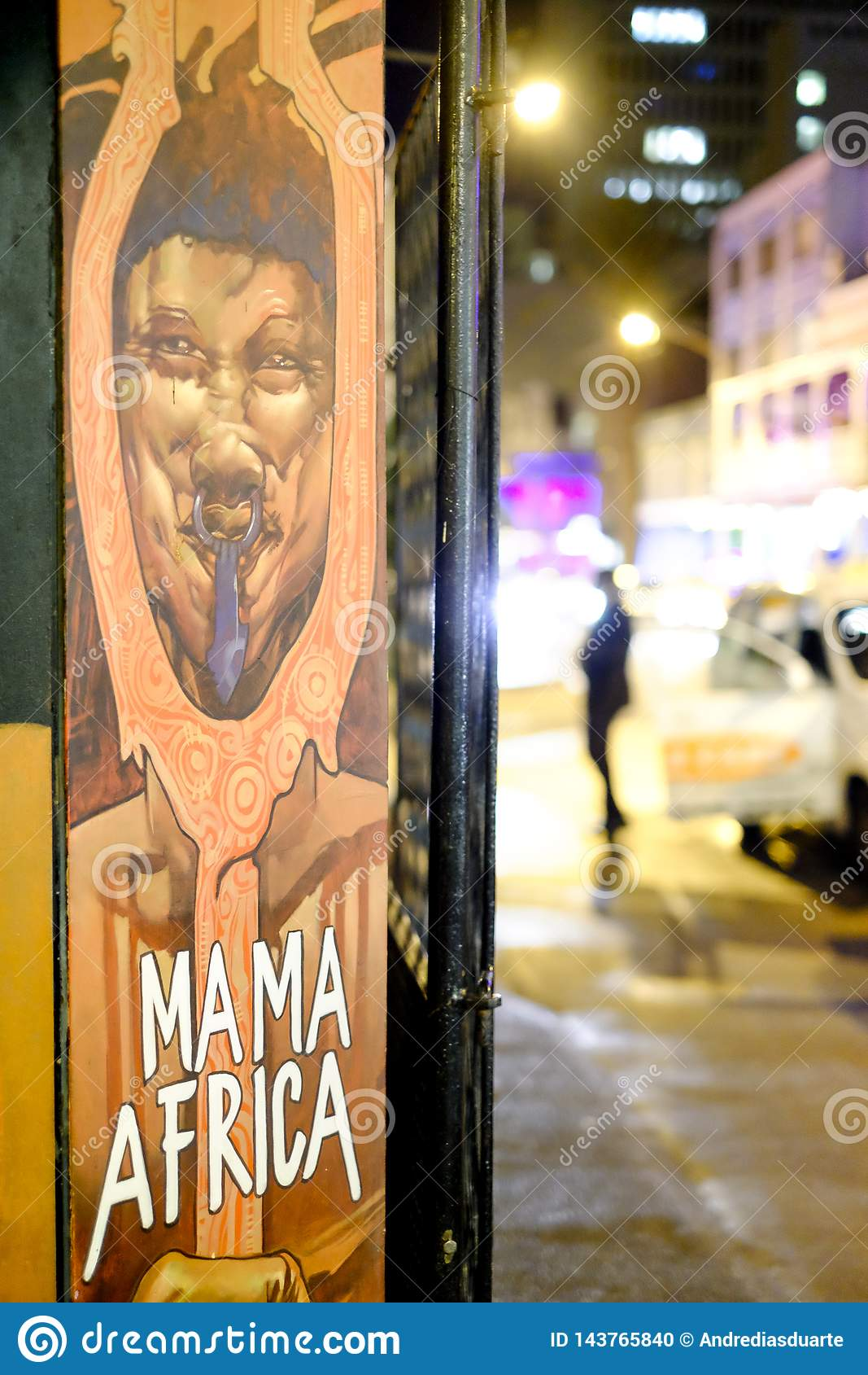 Gata som är photograhpy i Cape Town, Sydafrika