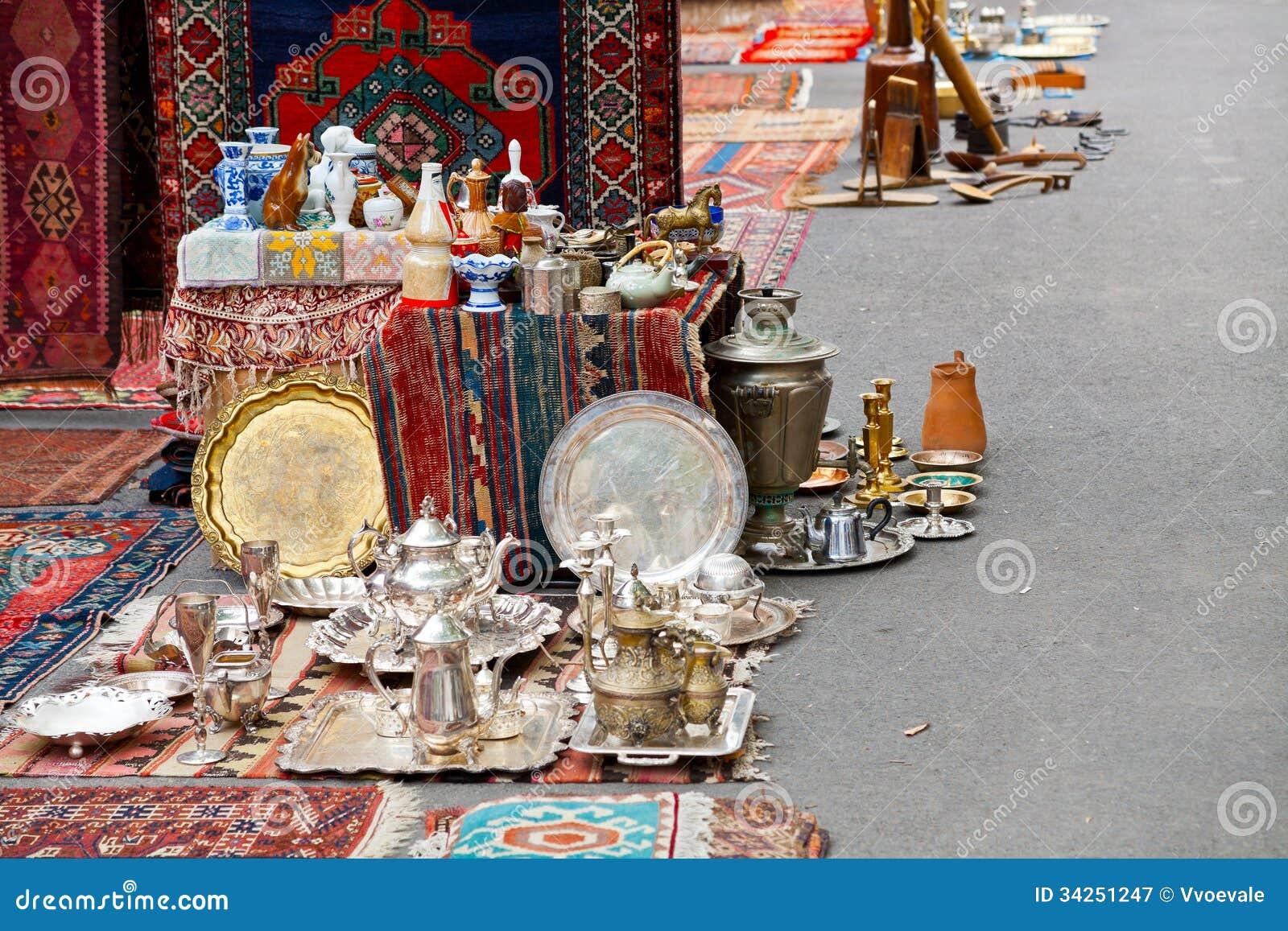 Gataloppmarknad i Yerevan