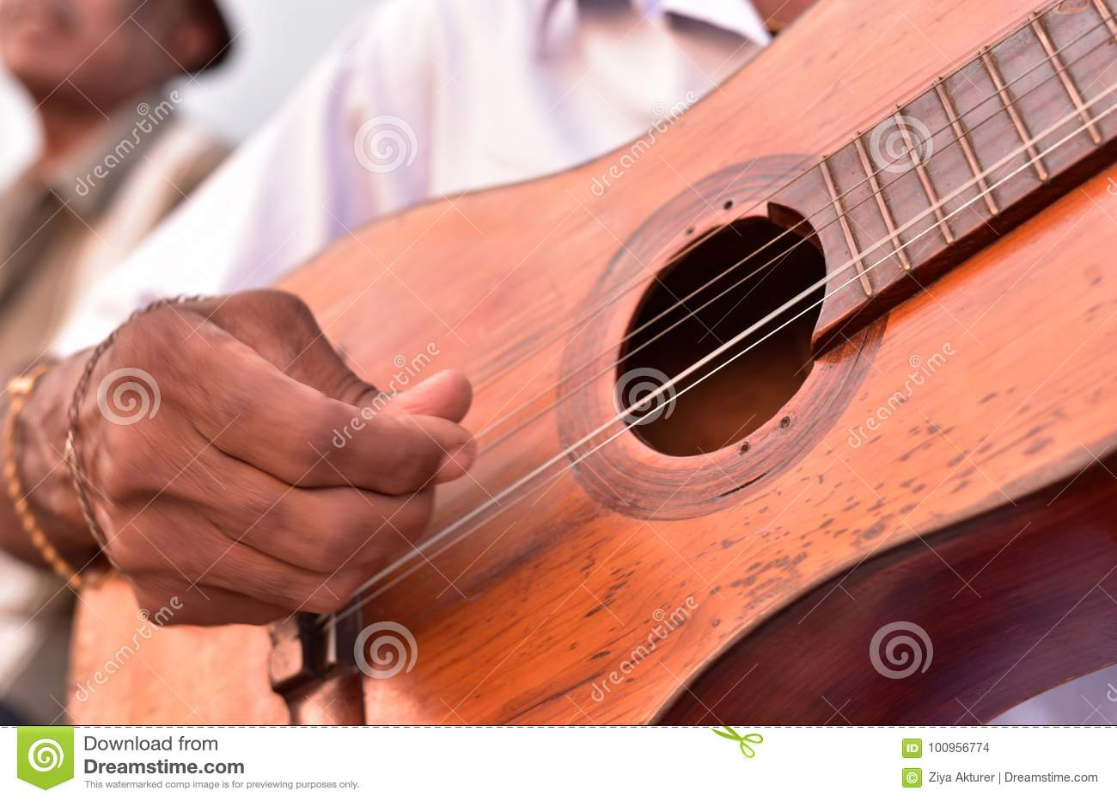 Gatamusiker i Trinidad