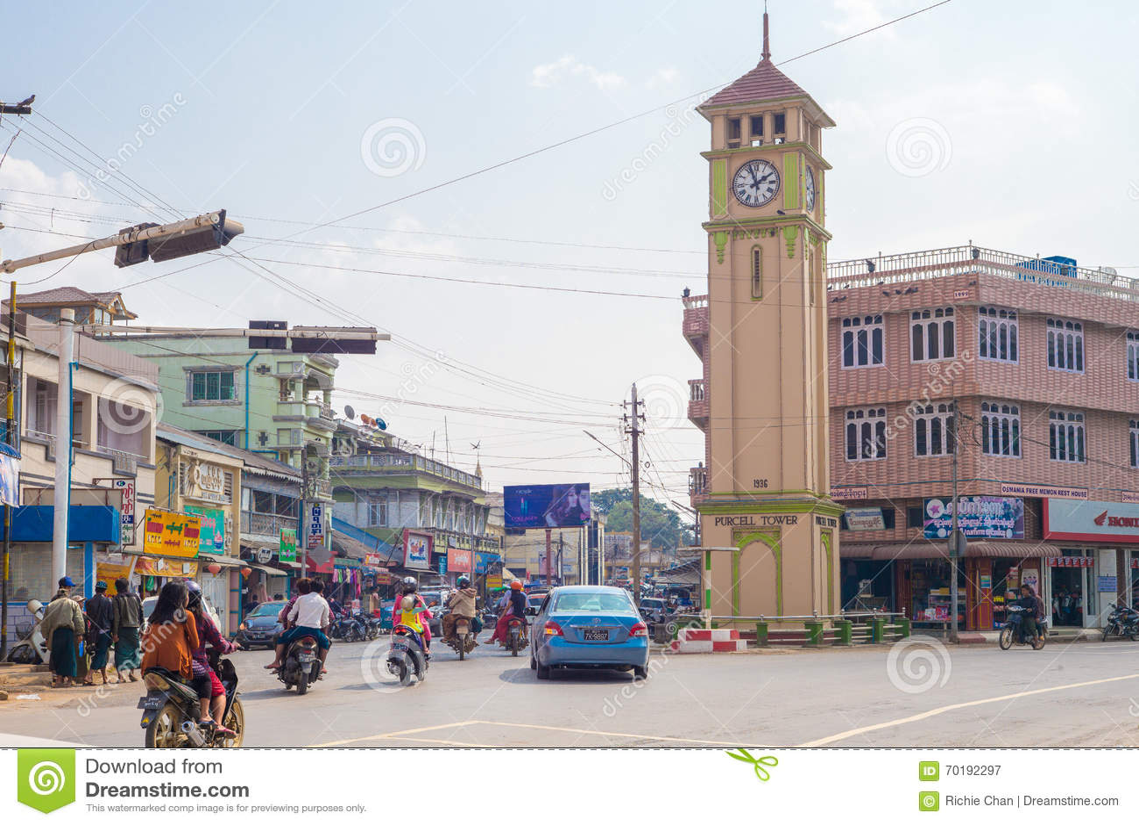 Gatasikt av Pyin Oo Lwin