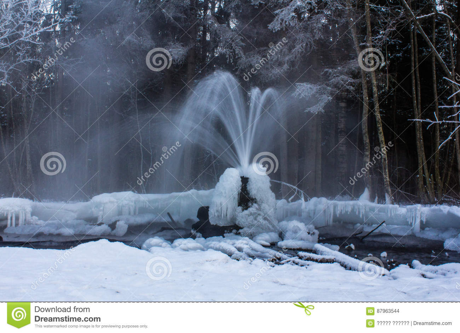 Gatchina geysers