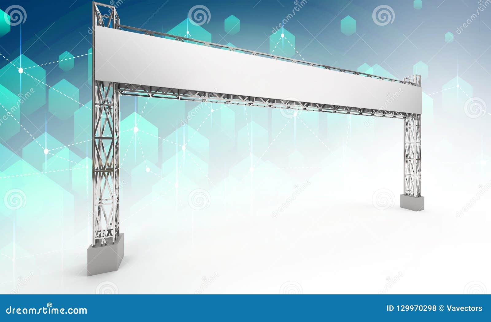 Gate exhibition rigging modern design