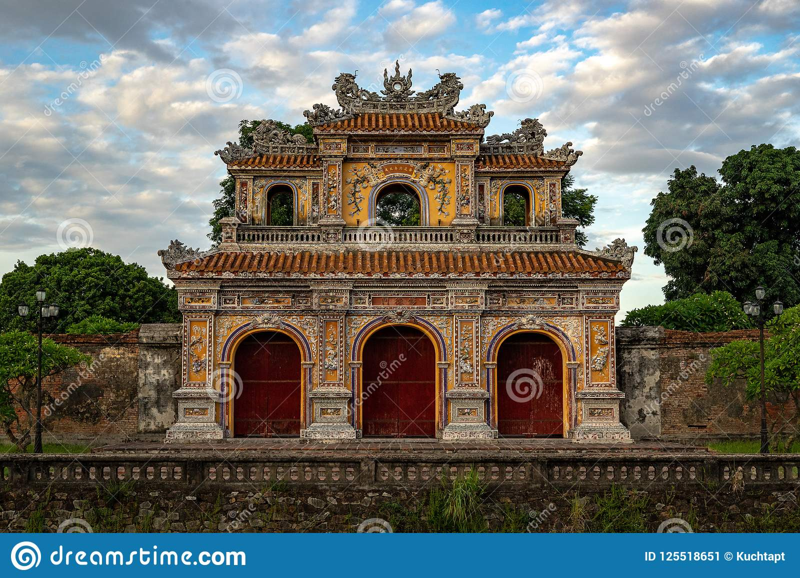 Gate to the Imperial City, Hue