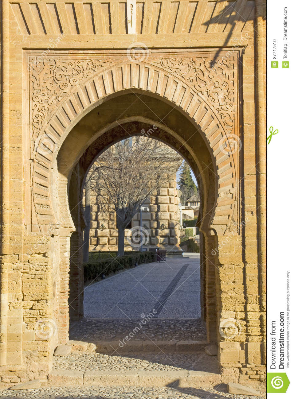 Gate of wine. Alhambra,