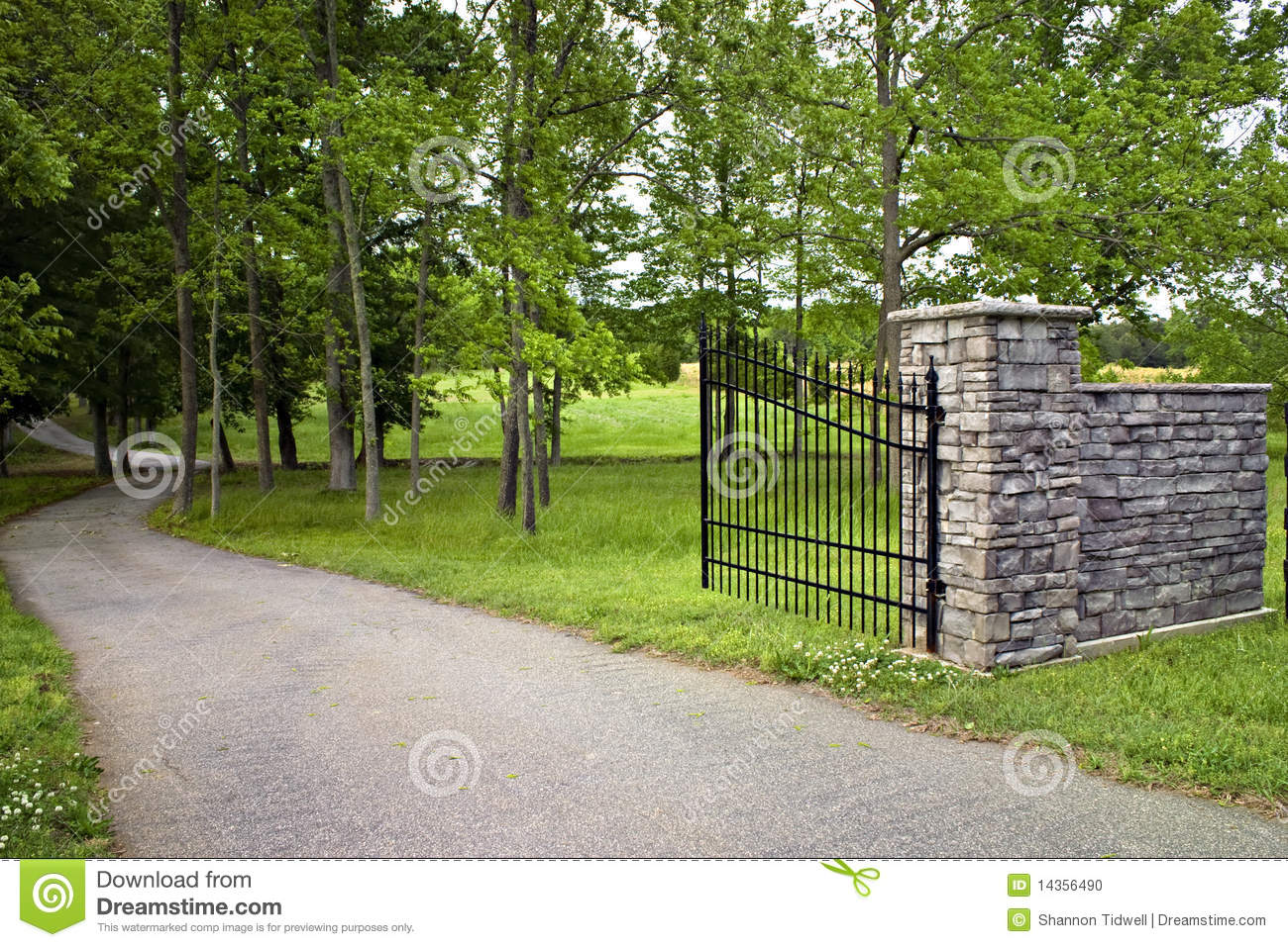 Laterite stone brick wall stock images image 35510874 - Gated Driveway Stock Photo Image 14356490