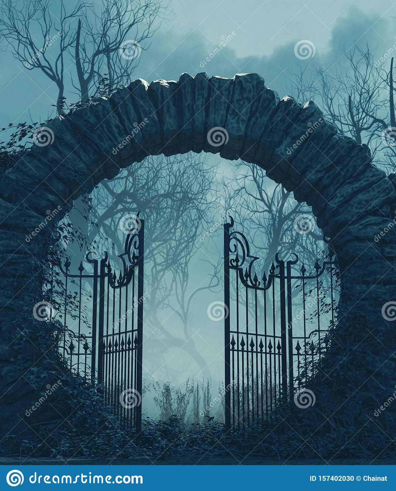 Gate Clipart Cemetery Gates - Gate Clipart - Png Download - Full Size  Clipart (#318287) - PinClipart