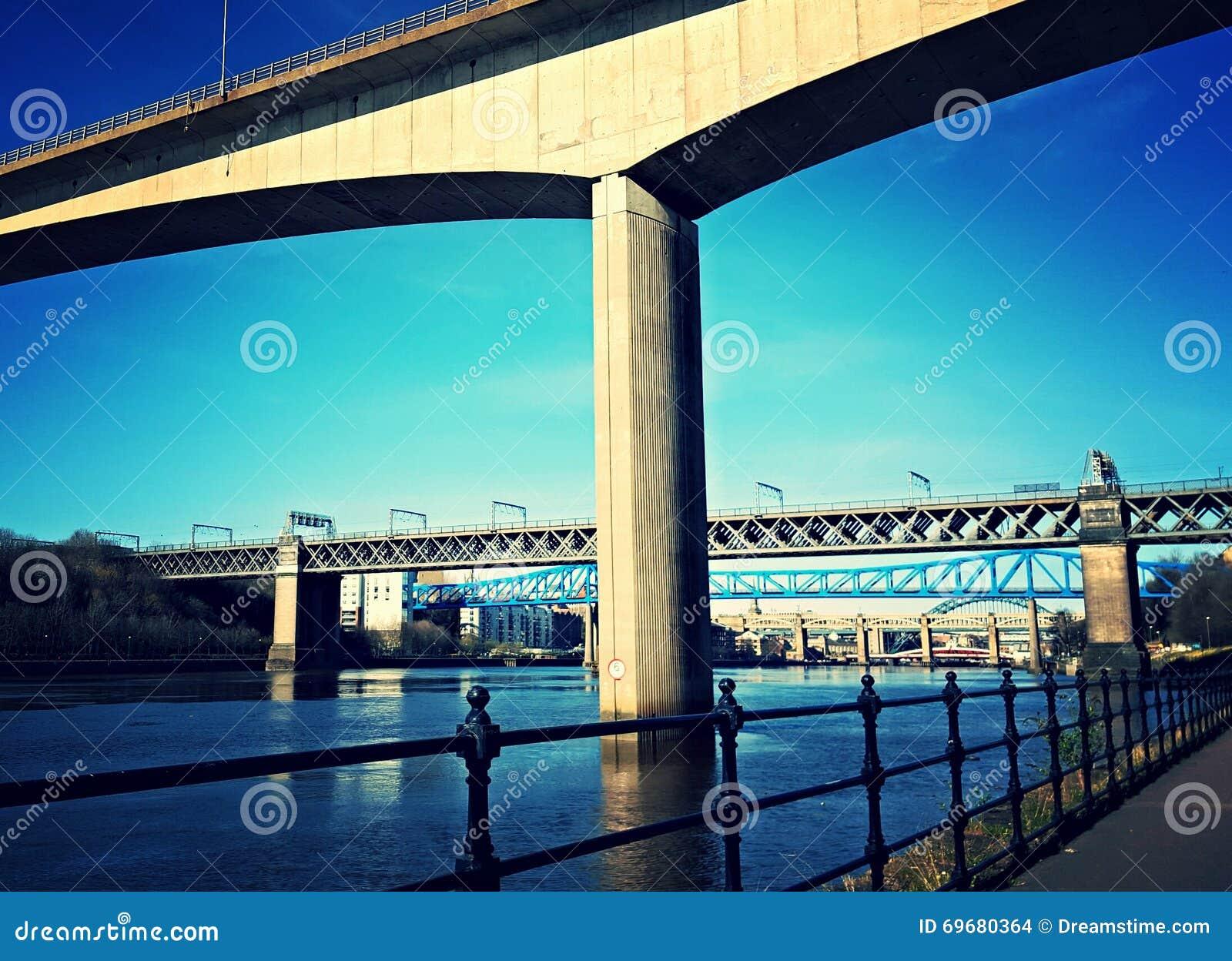 Gateshead-Kai Tyne-Ansicht