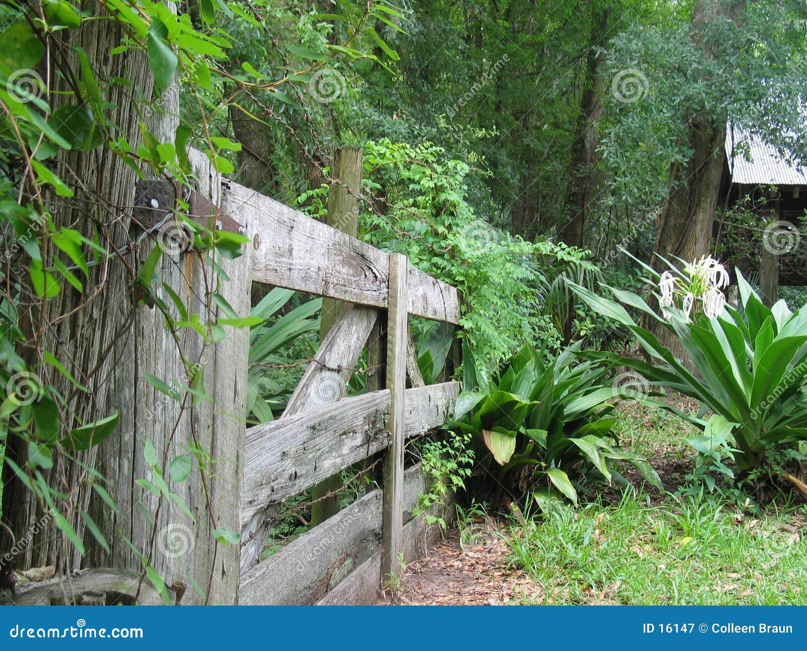 Gateway aan de tuin