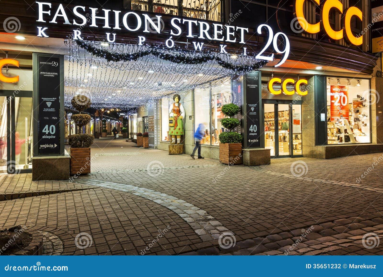 Fashion Night Street Photography
