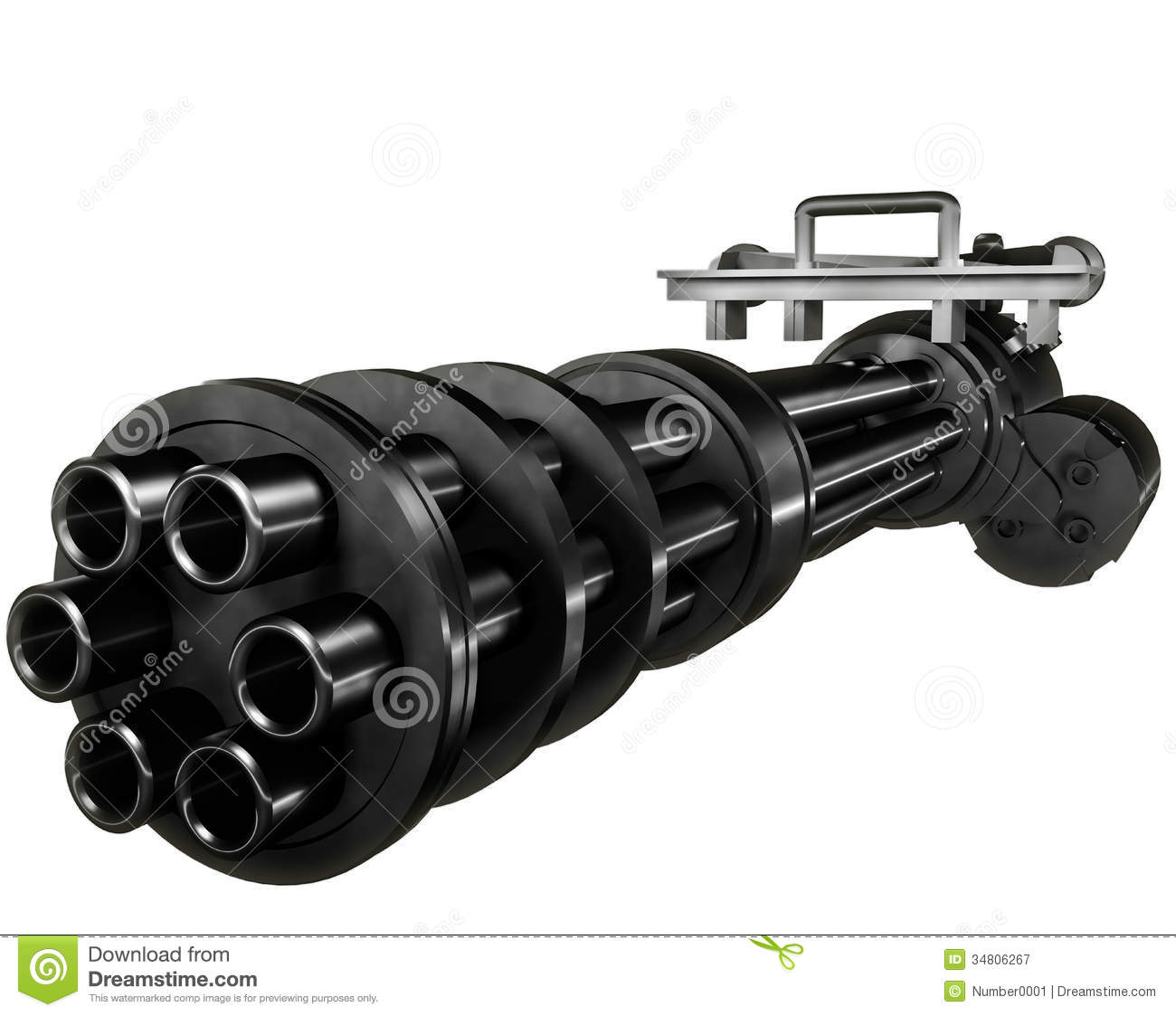 Gatling Royalty Free Stock Photography - Image: 34806267