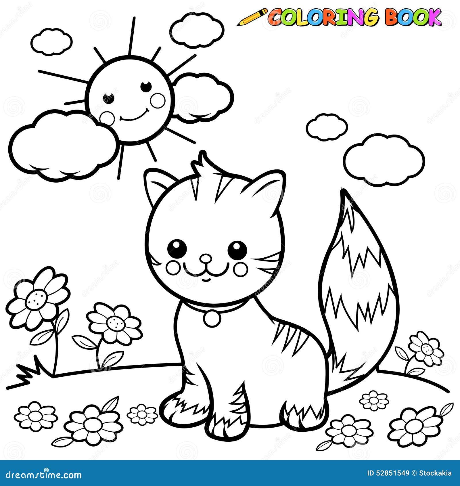 Excepcional Gato Para Colorear Libros Elaboración - Dibujos Para ...