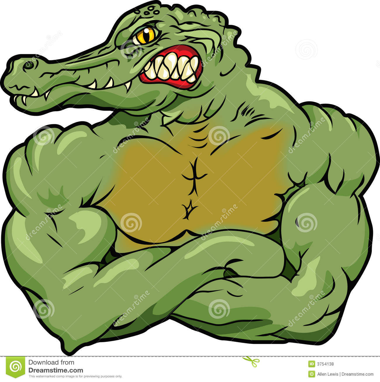 Gator Royalty Free Stock Photos - Image: 3754138