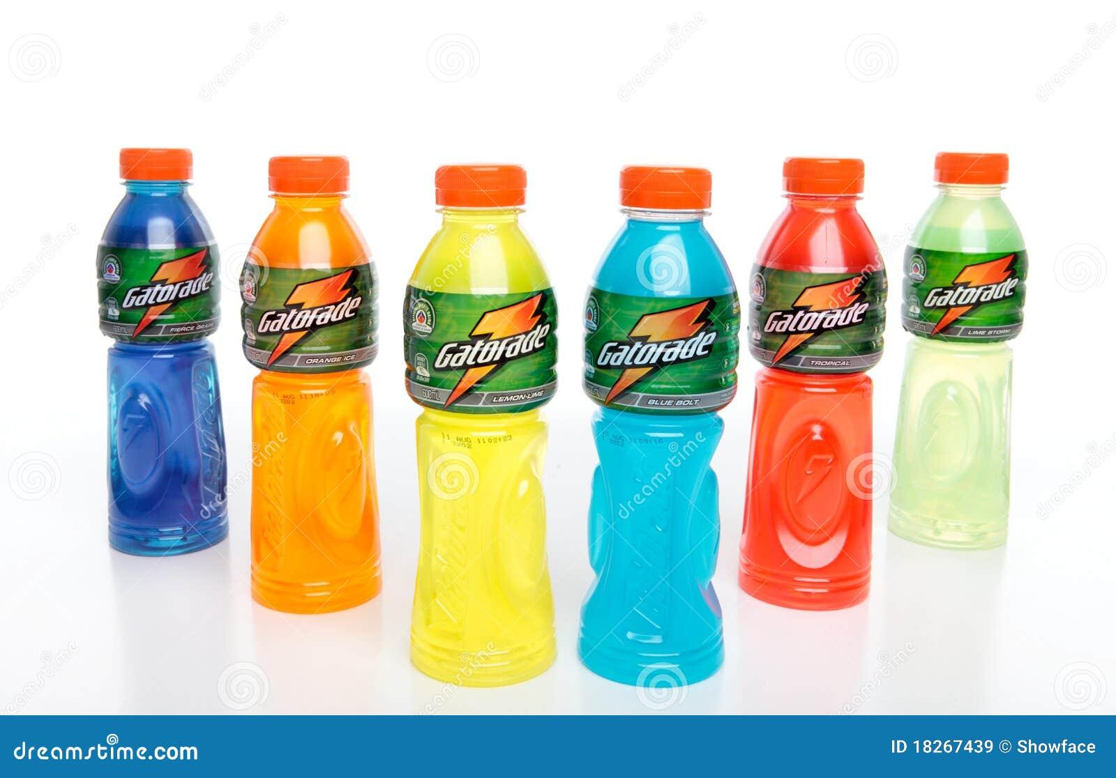 Flaschen Gatorade redaktionelles foto. Bild von flüssigkeiten - 37070791